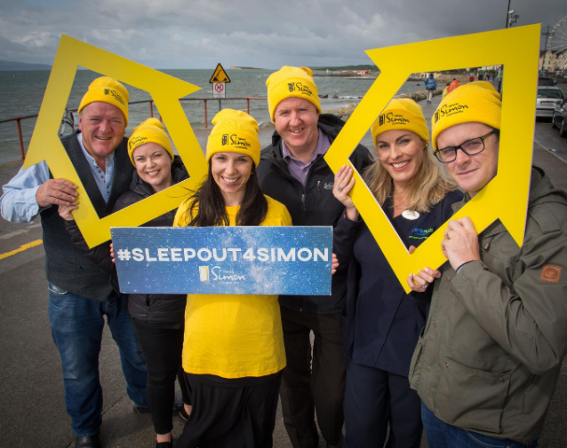 Sleep Out for Galway Simon – Transforming People's Lives