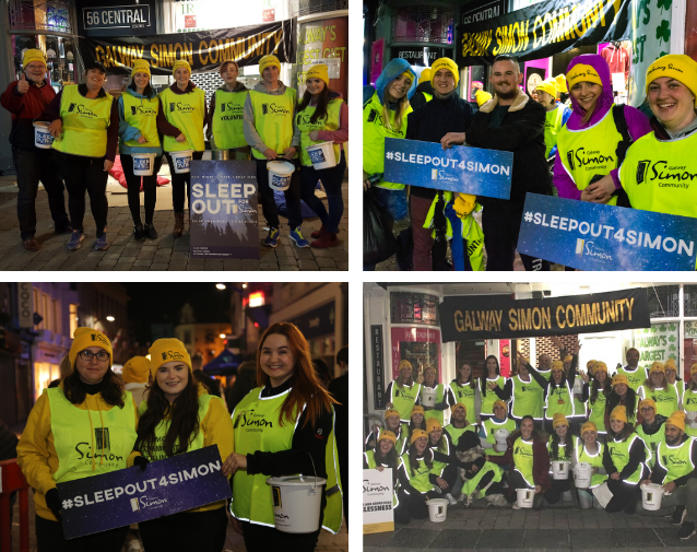 Galway Simon Sleep Out four years later