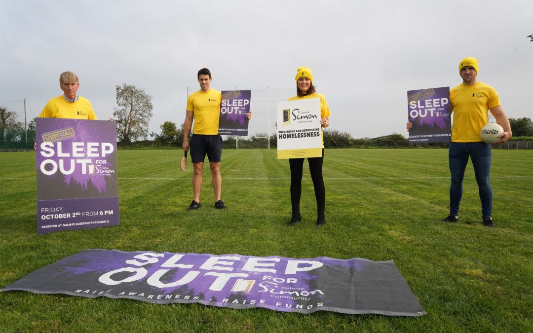 Galway GAA call on local clubs to take part in the Virtual Sleep Out for Simon