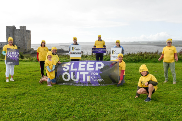 Sleep Out for Simon welcomes Oranmore-Maree Community Team