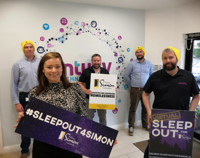Team Intuity Technologies Take The Virtual Sleep Out Challenge!