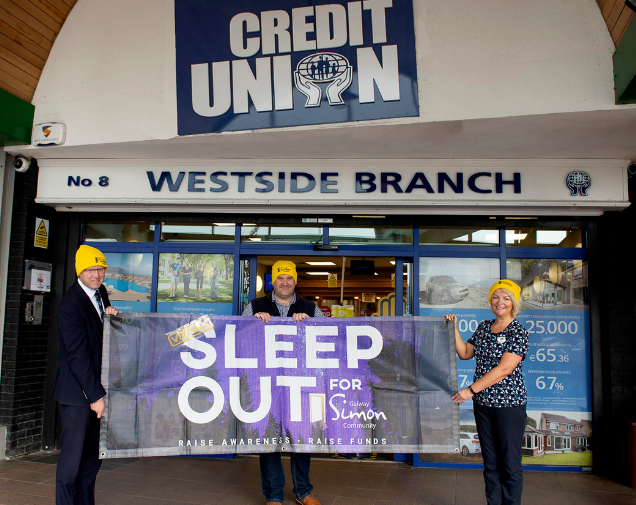 St. Anthony's & Claddagh and St. Jarlath's Credit Union take on the Virtual Sleep Out for Simon
